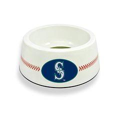 GameWear Seattle Mariners Classic Baseball Pet Bowl