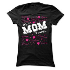 (Tshirt Mother) It is a Mom thing T shirt- Limited Edition (lifestyletshirts)…