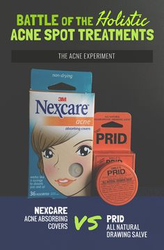 Battle Of The Holistic Spot Treatments Prid Drawing Salve Vs Nexcare Acne Patches