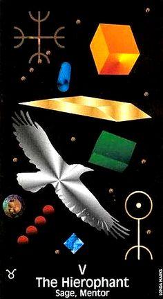 Crow's Magick Tarot ► The Hierophant