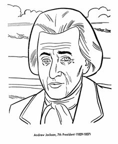 Free printable President Thomas Jefferson coloring pages