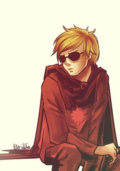 Homestuck: Dave Strider by AnafiGreen
