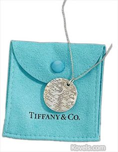 Tiffany & Co. Pendant. Tiffany & Co., which has been around since the mid-1800s, combined creative designers, high-quality gems and distinctive jewelry with its unmistakable blue box to create a memorable name for itself. Photo: Ivey-Selkirk Auctioneers