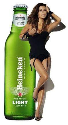 Heineken celebrities  Eva langoria