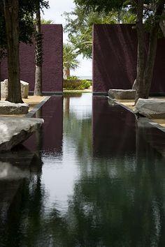 dark water pool