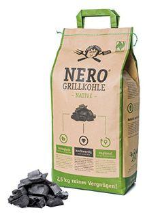 Nero - Grillkohle Native (2,5 kg) bekannt aus Höhle der Löwen Drinks, Gifts, Ideas, Lion's Den, Napa Cabbage, Crickets, Household, Drinking, Beverages