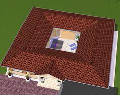 Atrium Bungalow - domoplan massivhaus