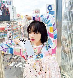 Japanese Face, Japanese Beauty, Japanese Girl, High Fashion Photography, Glamour Photography, Lifestyle Photography, Editorial Photography, Nana Komatsu Fashion, Vintage Vogue Covers