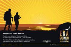 Kansainväliset Erämessut on eräalan ykköstapahtuma Suomessa. Minä suunnittelin messujen mainontaa 15 vuoden ajan.