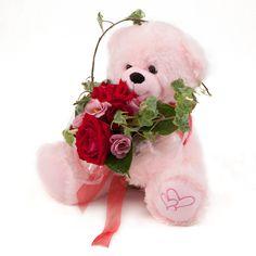 פרחים ליום הולדת - פרחים תמר Teddy Bear, Toys, Flowers, Animals, Activity Toys, Animales, Animaux, Florals, Teddybear