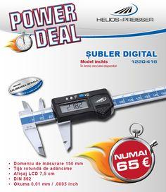 Promoție șublere Helios-Preisser Control, Model, Scale Model, Template, Modeling, Mockup