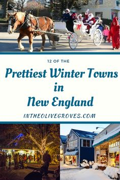 New England is so picturesque but when the snow starts falling it's like walking back in time. These are the prettiest winter towns in New England. Florida Travel, Travel Usa, Us Destinations, Europe Travel Guide, Best Places To Travel, Train Rides, Winter Fun, Park City, Holiday Travel
