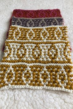 Mosaic knitting square from A Day Out knit along blanket by Sarah Hatton | Black Sheep Wools #adayoutkal #knitting Knitting Squares, Black Sheep Wool, Local History, Simple Colors, Pattern Names, Knitted Blankets, Days Out, Mosaic, Mosaics
