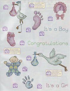 ponto cruz graficos gratis bebe - Ask.com Image Search