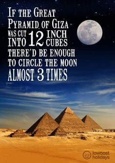 facts about egyptian pyramids