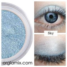 Sky Eyeshadow ($12) ❤ liked on Polyvore featuring beauty products, makeup, eye makeup, eyeshadow and eyes