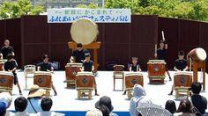Cool Kid's Taiko Drum Group in Japan