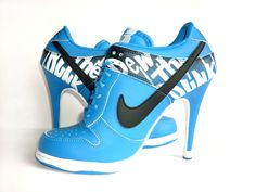 Want to wear nike heels at my wedding and my husband will wear his J's.