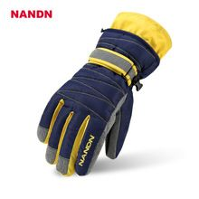 Apparel Accessories Outdoor Hiking Camping Riding Mens Ski Gloves Motorcycle Winter Women Glove Windproof Waterproof Unisex Snow Gloves To Make One Feel At Ease And Energetic