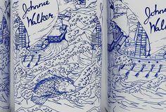 Johnnie Walker 1910 Special Edition Bottles Detail