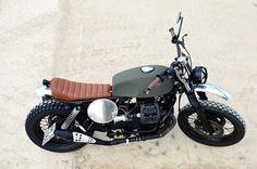 Moto Guzzi Street Tracker #motorcycles #streettracker #motos   caferacerpasion.com