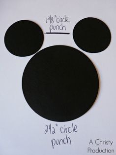 A Christy Production: Mickey Mouse Punch Art