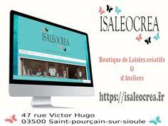 Découvrir le site internet Isaleocrea Site Internet, Electronics, Elementary Schools, Auvergne, Consumer Electronics