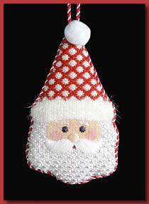 JCZ Designs - Snowflake Santa