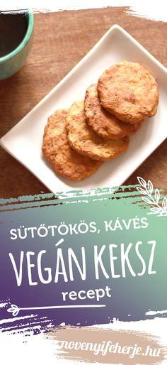 Ha szereted a sütőtököt esetleg a sütőtökös latte ízvilága is bejön, ezt a vegán kekszet imádni fogod! A receptet weboldalunkon találod! #keksz #vegan #veganrecept #veganreceptek #vegánreceptek #kekszrecept #magyarrecept #receptek #rágcsa #ropogtatnivaló #nasi #nassolnivaló #vegán #sütőtök #kávé #latte #vegánfehérje #növényifehérje #fehérjepor #veganprotein #veganproteintriplex Latte, French Toast, Protein, Breakfast, Food, Morning Coffee, Essen, Meals, Yemek