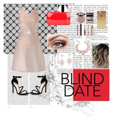 """Blind Date"" by elsie-b ❤ liked on Polyvore featuring Oris, Miss Selfridge, Mollini, Rocio, Charlotte Tilbury, Thalia Sodi and Anne Sisteron"