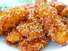 柔らか*鶏ムネ肉の甘辛チキンスティックの画像