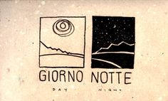 Learning Italian Language ~  Giorno, notte (day and night) IFHN