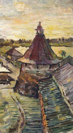 В.Качанов. Соловки. Белая ночь. 1966