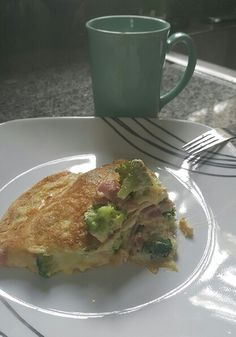 Peace Junky's Kitchen..... #breakfast #omlette #eatyourveggies #healthier #coffeelover #Foodie #foodporn  The other half of the omlett staring at me.....she lonely....got her too though. I eat!  Lmao   Good Mooorning!   #Eat well , #drink better, #h20 ! ❤