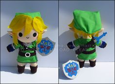 Chibi Link commission, based off of the figma with nicer colored pants haha. He's about 11 inches tall made of deersuede, cotton, felt, and craft foam. Chibi Link - Legend of Zelda Nerd Crafts, Crafts To Do, Diy Crafts, Chibi, Anime Crafts, Dibujos Cute, Plush Pattern, Link Zelda, Foam Crafts