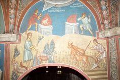 BLAGO | БЛАГО : Дечани : Каин и Авељ, Господ прихвата Авељеву жртву, Господ одбија Каинов принос