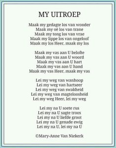 African Poems, Happy Birthday In Heaven, Grieving Quotes, Afrikaanse Quotes, Scrapbook Quotes, Christian Love, Special Quotes, My Prayer, Stress And Anxiety