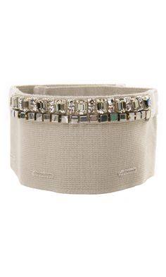 'S Max Mara lamb leather wrist band #accesories