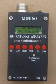 132.80$  Buy now - http://ali2fc.worldwells.pw/go.php?t=32317410097 - Mini HF ANT SWR Antenna Analyzer SARK100 For Ham Radio Hobbists with 3.7v li-on battery 132.80$