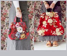 76751a408 the linen garden: Bags of Floral Love - Collection 2 Bolso Bordado, Bolsos  De