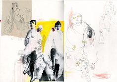 66 ideas fashion sketchbook pages central saint martins student Fashion Portfolio Layout, Fashion Design Sketchbook, Portfolio Book, Fashion Sketches, Portfolio Design, Portfolio Ideas, Fashion Drawings, Sketchbook Layout, Sketchbook Pages