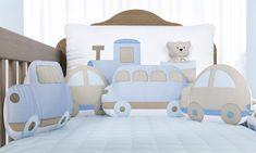 Modern Color Palette, Modern Colors, Soft Colors, Crib Sets, Crib Bedding Sets, Crib Protector, Crib Bumper Set, Car Nursery, Fluffy Cushions