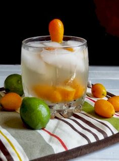 Rice and Coconut: kumquat key limeade