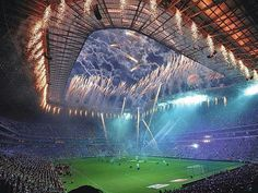 See 2454 photos from 7152 visitors about architecture, stingrays, and stadium. Soccer Fifa, Soccer Stadium, Football Gif, Football Stadiums, Ac Milan Champions League, Cf Monterrey, Velodrome Marseille, Tottenham Hotspur Wallpaper, World Cup Stadiums