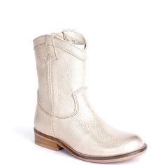 Hip schoenen voor meisjes goud H1367 platinum