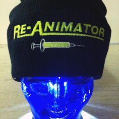 Re-Animator Horror Movie Beanie for sale by inkedupmerch at MoreThanHorror.com
