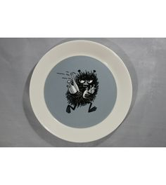 The Plate is in almost new condition, but has some wear.The Plate is The Plate will be packed with care when shipping. Moomin, Decorative Plates, Printable