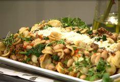 Italian Dishes, Italian Recipes, New Recipes, Favorite Recipes, Broccoli Rabe Recipe, Asparagus Recipe, Garlic Minced, 1 Pound, Pasta Recipes