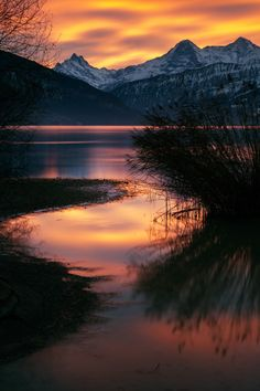 The January Fire on 500px by Ludvik Danek, Thun, Switzerland