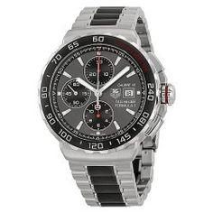 TAG Heuer Men's CAU2011.BA0873 Formula 1 Analog Display Swiss Automatic Grey Watch
